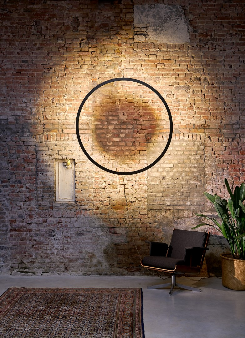 Framed Circle wall